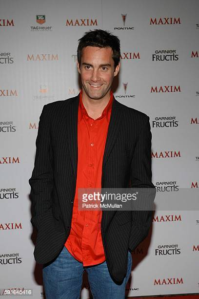 Jay Harrington attends Maxim Magazine Unveils their HOT 100 for 2005 at Hollywood on May 12 2005