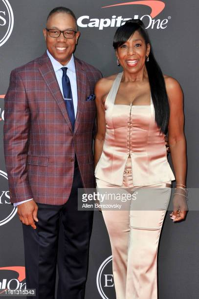 Jay Harris and Dawnn Lewis attend the 2019 ESPY Awards at Microsoft Theater on July 10 2019 in Los Angeles California