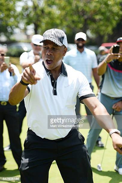 Jay Harris participates in the 2016 BETX Celebrity Golf sponsored by Nike on June 24 2016 in Los Angeles California
