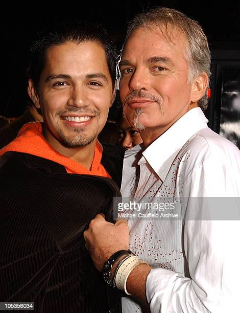 """Jay Hernandez and Billy Bob Thornton during """"Friday Night Lights"""" Los Angeles Premiere - Red Carpet at Grauman's Chinese Theatre in Los Angeles,..."""