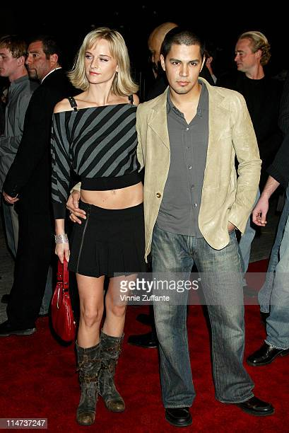 "Jay Hernandez and Daniella Deutscher attending the premiere of ""Torque""at Grauman's Chinese Theater in Hollywood, Ca 01/14/04"