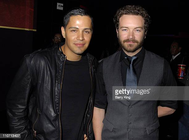 Jay Hernandez and Danny Masterson during Hostel Part II Los Angeles Premiere Arrivals at Mann's Chinese 6 Theatres in Hollywood California United...