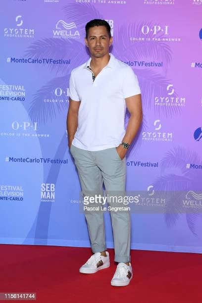 Jay Hernandez arrives at the 59th Monte Carlo TV Festival TV Series Party on June 15 2019 in MonteCarlo Monaco