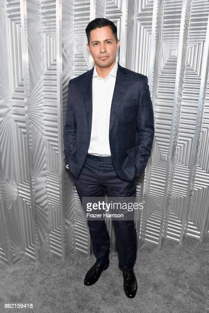 Jay Hernandez attends ELLE's 24th Annual Women in Hollywood Celebration presented by L'Oreal Paris Real Is Rare Real Is A Diamond and CALVIN KLEIN at...