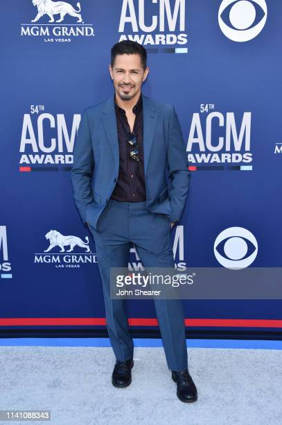 Jay Hernandez attends the 54th Academy Of Country Music Awards at MGM Grand Garden Arena on April 07 2019 in Las Vegas Nevada