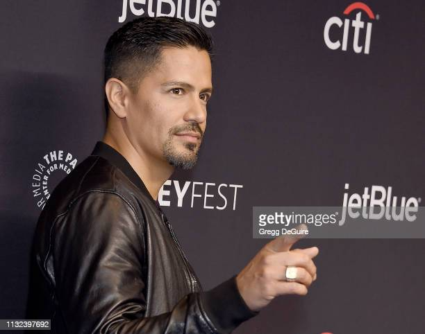 Jay Hernandez attends The Paley Center For Media's 2019 PaleyFest LA 'Hawaii Five0' 'MacGyver' And 'Magnum PI' at Dolby Theatre on March 23 2019 in...