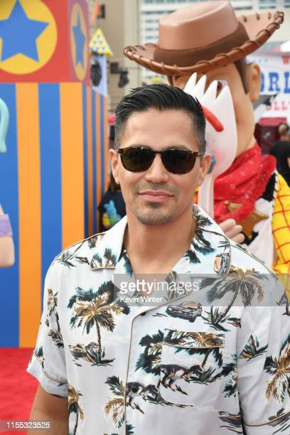 Jay Hernandez attends the premiere of Disney and Pixar's Toy Story 4 on June 11 2019 in Los Angeles California