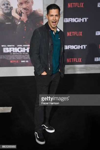 Jay Hernandez attends the Premiere Of Netflix's Bright at Regency Village Theatre on December 13 2017 in Westwood California