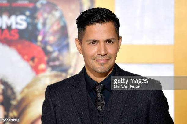 Jay Hernandez attends the premiere of STX Entertainment's A Bad Moms Christmas at Regency Village Theatre on October 30 2017 in Westwood California