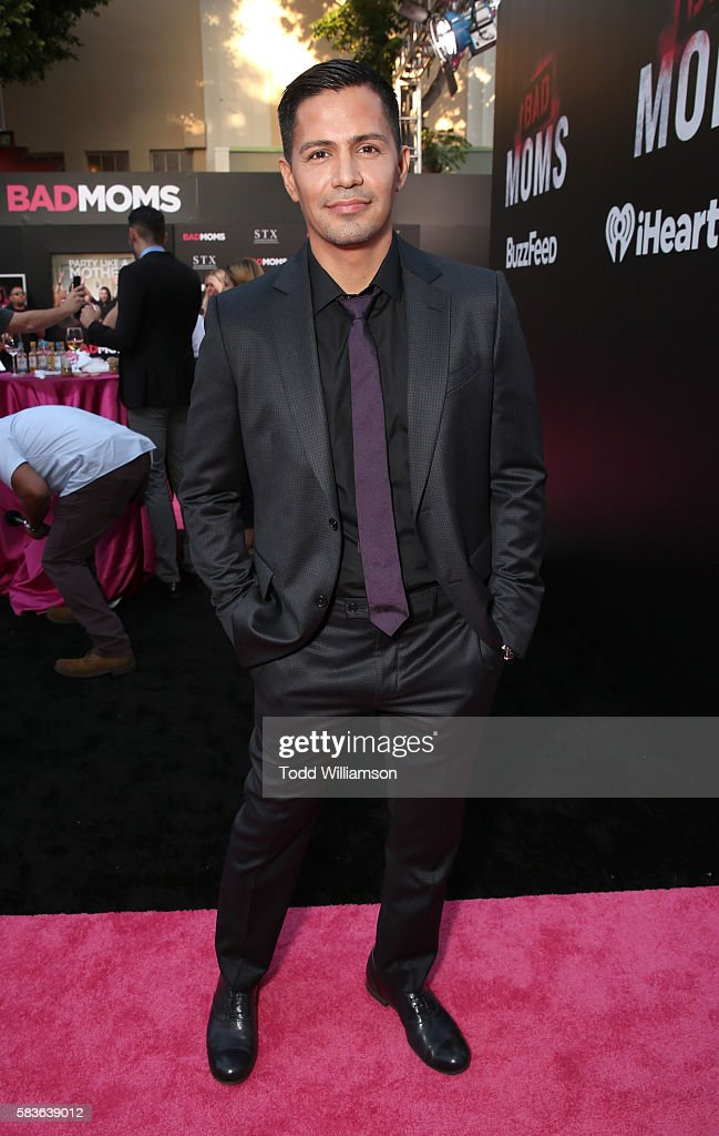 Jay Hernandez attends the premiere Of STX Entertainment's 'Bad Moms' at Mann Village Theatre on July 26, 2016 in Westwood, California.