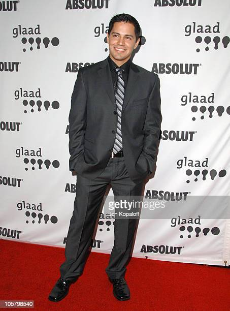 Jay Hernandez during 17th Annual GLAAD Media Awards Arrivals at Kodak Theatre in Hollywood California United States