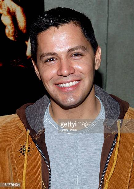 Jay Hernandez during Lions Gate Films' Hostel Cast and Crew Screening Arrivals at Arclight Theatre in Hollywood California United States