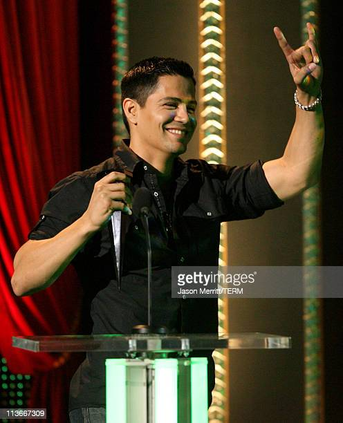 Jay Hernandez during Spike TV's Scream Awards 2006 Show at Pantages Theater in Hollywood California United States