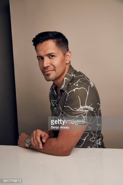 Jay Hernandez of CBS's 'Magnum PI' poses for a portrait during the 2018 Summer Television Critics Association Press Tour at The Beverly Hilton Hotel...
