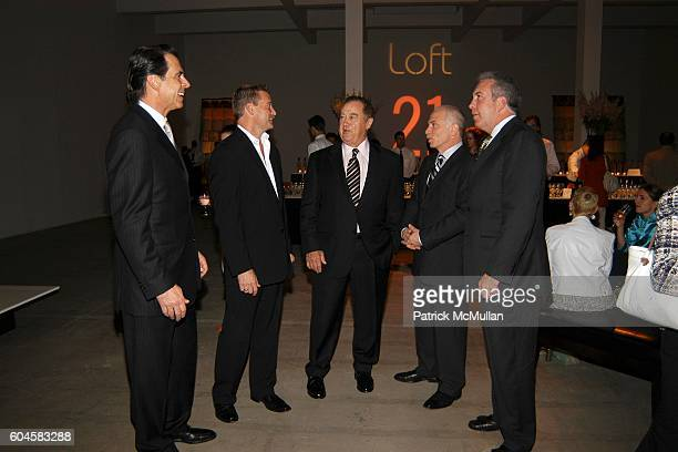 Jay Jacobs Robert Kling Marvin Girouard Don Kinison and Cary Turner attend Global Fusion Furniture Collection LOFT 21 by PIER 1 at Skylight Studios...