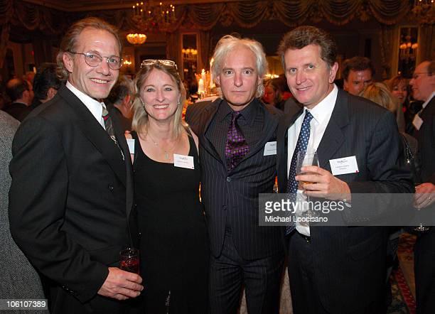 Jay Jahrsdoerfer Marie St Germaine Francois Sylvestre and Markus Wilhelm host and CEO of Bookspan