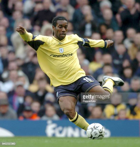 Jay Jay Okocha of Bolton Wanderers in action during the FA Barclaycard Premiership match between Arsenal and Bolton Wanderers at Highbury in London...