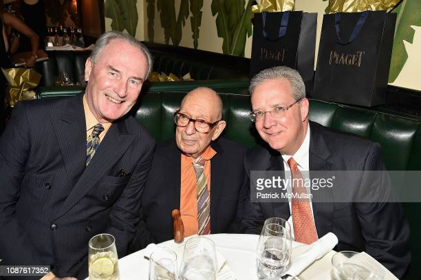 Jay Johnson Philip Pearlstein and Guest attend The Andy Warhol Museum's Annual NYC Dinner at Indochine on November 12 2018 in New York City