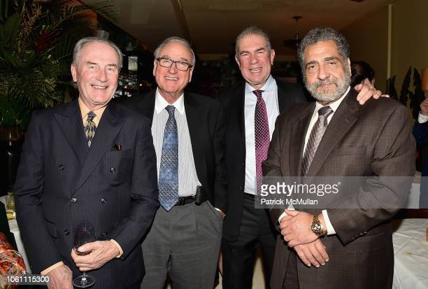 Jay Johnson Steve Thomas John Snyder and Jim Patrinos attend The Andy Warhol Museum's Annual NYC Dinner at Indochine on November 12 2018 in New York...
