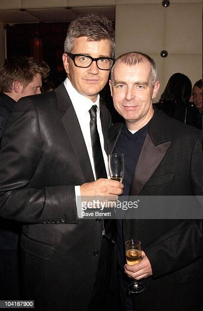 Jay Joplin And Neil Tennant Jay Joplin's White Cube Party At Sketch After The Opening Gala Of The Freeze Art In Regents Park Where Over Four Thousand...