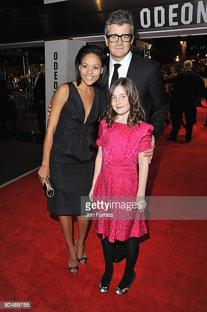 Jay Jopling and Angelica Jopling and guest attend the Closing Gala premiere of Nowhere Boy during the The Times BFI London Film Festival held at the...