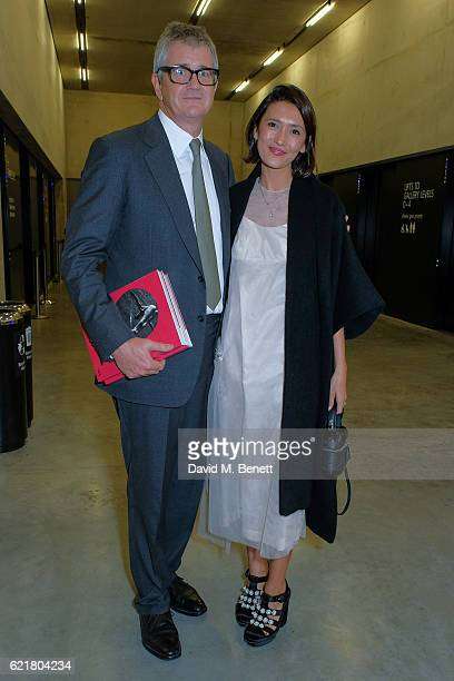 Jay Jopling and Hikari Yokoyama arrive at the opening reception for new exhibition 'The Radical Eye Modernist Photography From The Sir Elton John...