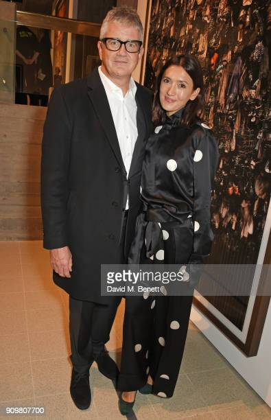 Jay Jopling and Hikari Yokoyama attend the reopening of The Hayward Gallery featuring the first major UK retrospective of the work of German...