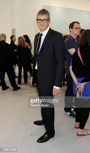 Jay Jopling attends a VIP preview of the Frieze Art Fair in Regent's Park on October 12 2011 in London Englandg
