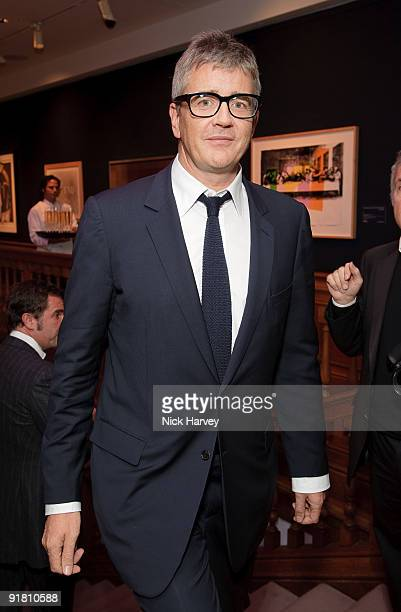 Jay Jopling attends reception hosted by Graff held in aid of FACET at Christie's King Street on October 12 2009 in London England