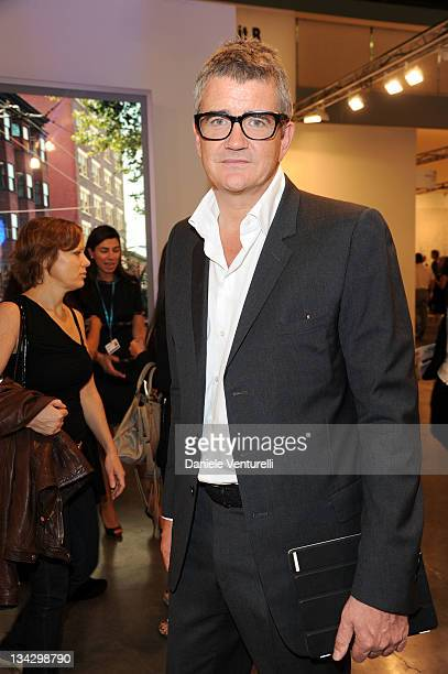 Jay Jopling attends the 'Art Basel Miami Beach 2011 preview' at the Miami Beach Convention Center on November 30 2011 in Miami Beach Florida