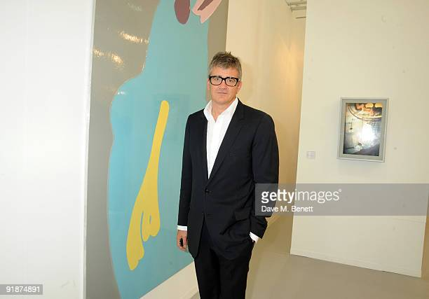 Jay Jopling attends the private view of the Frieze Art Fair at Regent's Park on October 14 2009 in London England