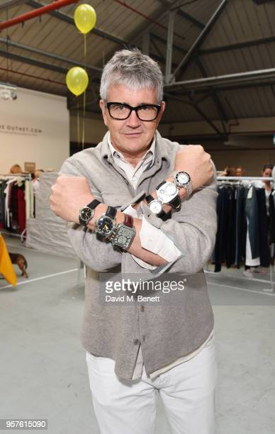 Jay Jopling attends the #SheInspiresMe Fashion Car Boot Sale in aid of Women For Women International at Brewer Street Car Park on May 12 2018 in...