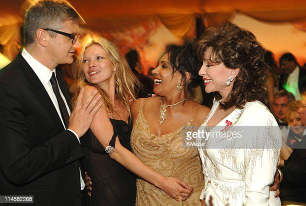 Jay Jopling Kate Moss Dame Shirley Bassey and Joan Collins
