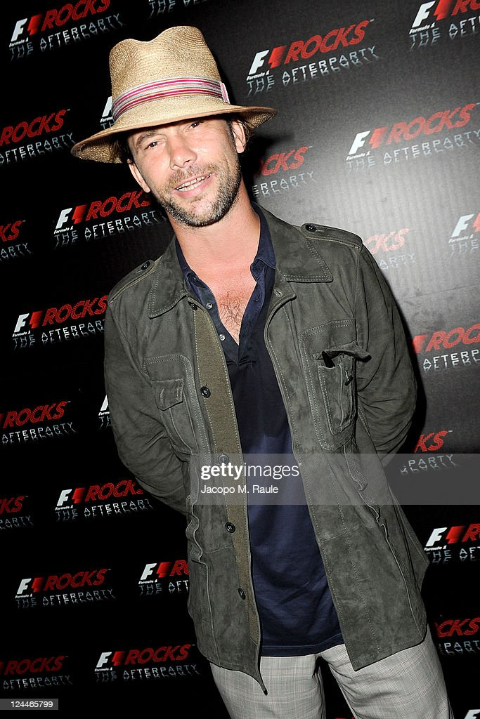 Jay Kay attends the F1 Rocks The Afterparty at Just Cavalli on September 9, 2011 in Milan, Italy.