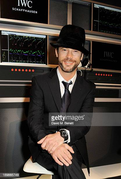 Jay Kay attends the IWC Schaffhausen Race Night event during the Salon International de la Haute Horlogerie 2013 at Palexpo on January 22, 2013 in...