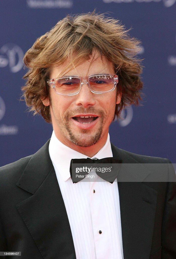 Jay Kay during 2006 Laureus World Sports Awards - Red Carpet Arrivals in Barcelona, Spain.