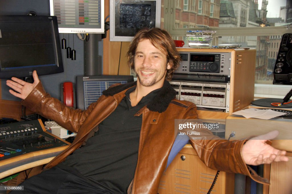 Jay Kay appears on Capital Radio's Entertainment Weekly