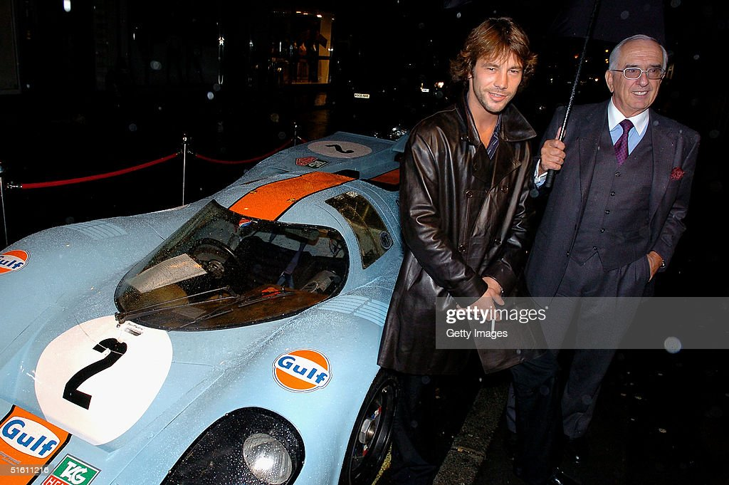 Jay Kay from Jamiroquai and Tag Heuer Chairman Jack Heuer attend the