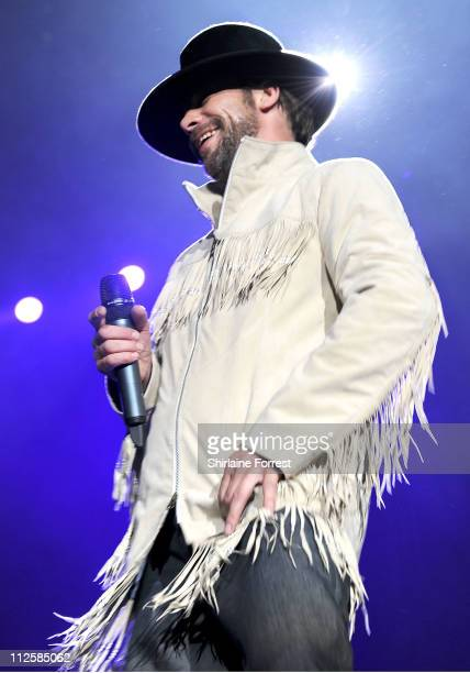 001394bc05c Jay Kay of Jamiroquai performs at MEN Arena on April 19 2011 in Manchester  England