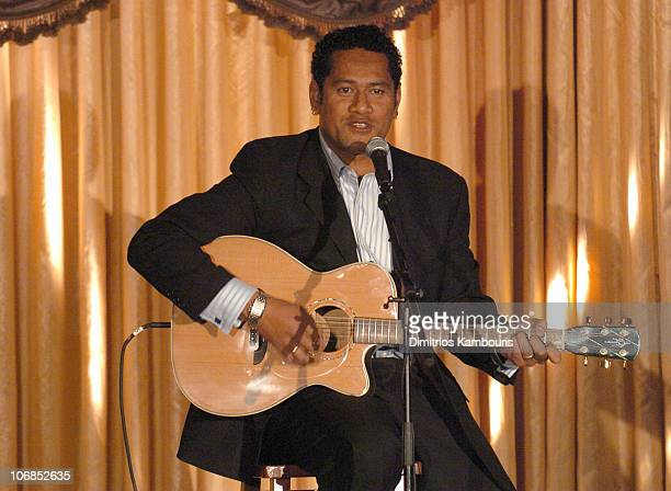 Jay Laga'aia during Fourth Annual Celebration of New Zealand Filmmaking and Creative Talent Pre Oscar Dinner at The Beverly Hills Hotel in Beverly...