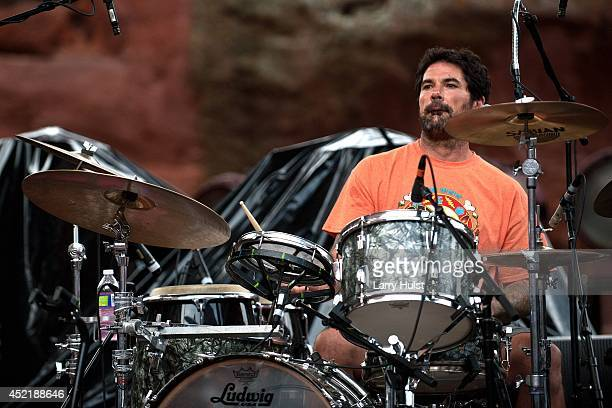 Jay Lane performing with 'Ratdog' at Red Rocks Amplitheater in Morrison Colorado on July 11 2014