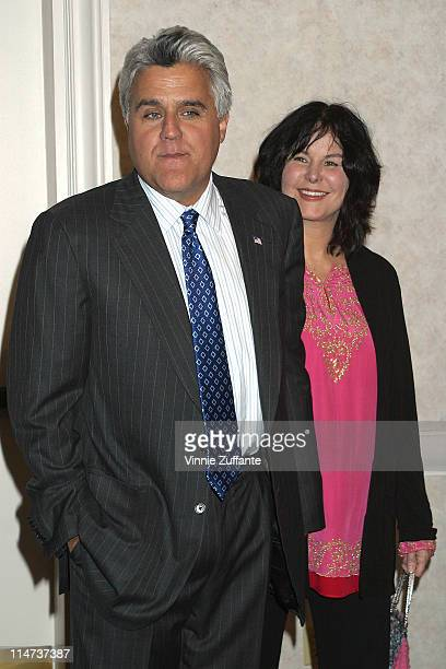 Jay Leno and wife Mavis attending the 3rd Annual AdoptAMinefield Benefit Gala at the Beverly Hilton Hotel in Beverly Hills CA 09/23/03