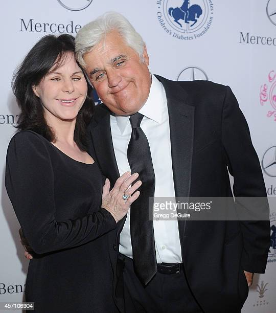 Jay Leno and wife Mavis Leno arrive at the 2014 Carousel Of Hope Ball Presented By MercedesBenz at The Beverly Hilton Hotel on October 11 2014 in...
