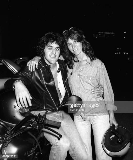 Jay Leno and wife Mavis Nicholson Leno attend the taping of The Merv Griffin Show on September 26 1979 at TAV Studios in Beverly Hills California