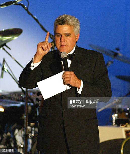 Jay Leno at the Carousel of Hope Ball 2002 to benefit childhood diabetes hosted by Barbara and Marvin Davis at the Beverly Hilton Hotel Beverly Hills...