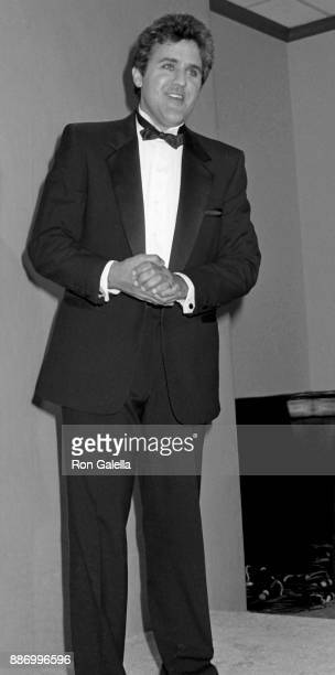 Jay Leno attends 39th Annual Primetime Emmy Awards on September 20 1987 at the Pasadena Civic Auditorium in Pasadena California