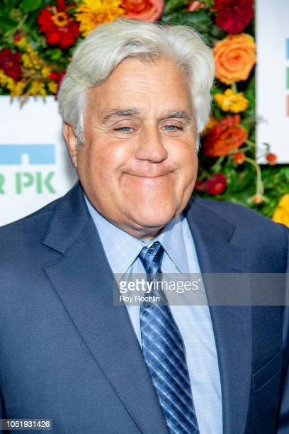 Jay Leno attends the 20th Anniversary Hudson River Park gala at Hudson River Park's Pier 62 on October 11 2018 in New York City