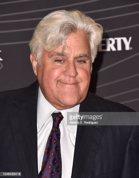 Jay Leno attends the Petersen Automotive Museum Gala at The Petersen Automotive Museum on October 5 2018 in Los Angeles California