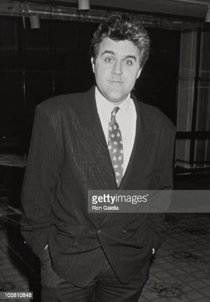 Jay Leno during 'Eight Days of Puglia In America' Exhibit at Century Plaza Hotel in Los Angeles California United States
