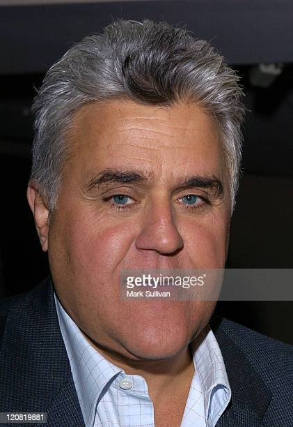 Jay Leno during 'My Uncle Berns' HBO Documentary Los Angeles Premiere at Museum of Tolerance in Los Angeles California United States